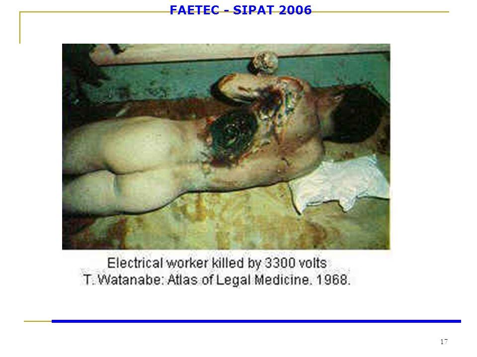 FAETEC - SIPAT 2006 17