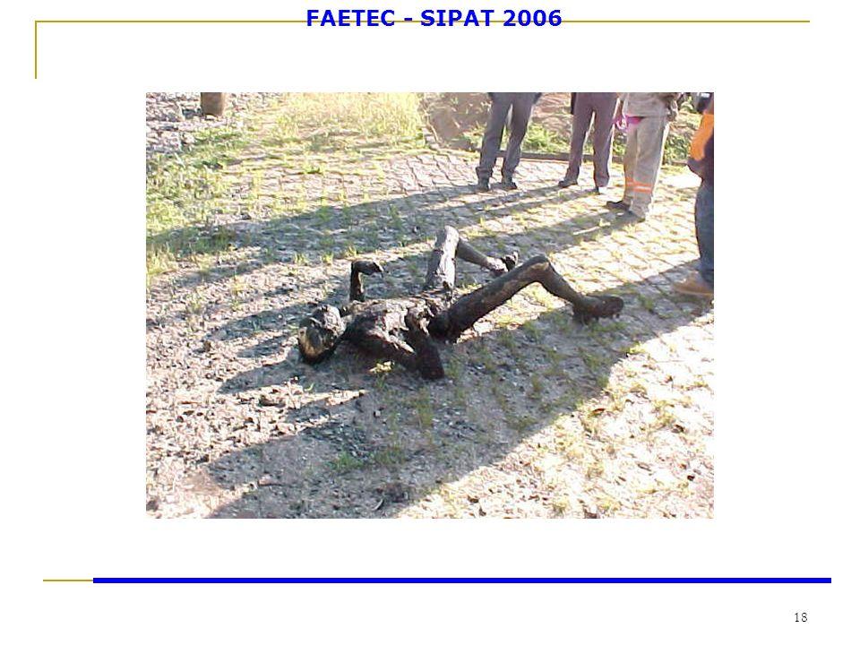 FAETEC - SIPAT 2006 18