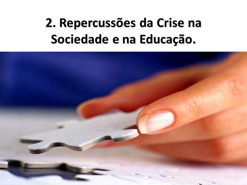 2. Repercussões da Crise na Sociedade e na Educação.