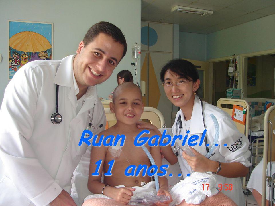 Ruan Gabriel... 11 anos... 11 anos...