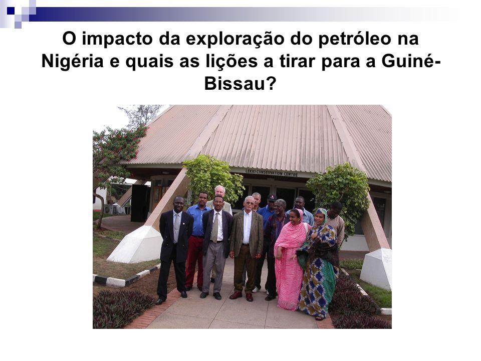 O impacto da exploração do petróleo na Nigéria e quais as lições a tirar para a Guiné- Bissau?