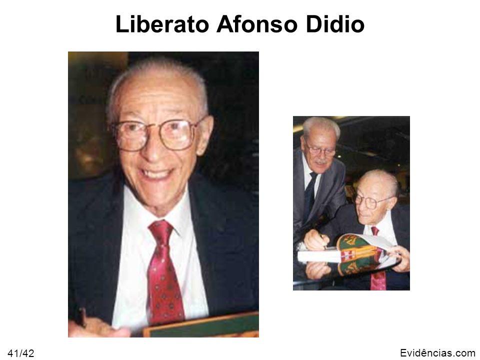 Evidências.com 41/42 Liberato Afonso Didio