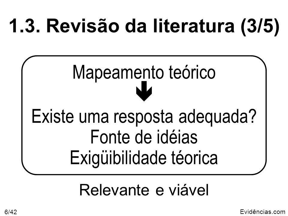 Evidências.com 7/42 1.4.