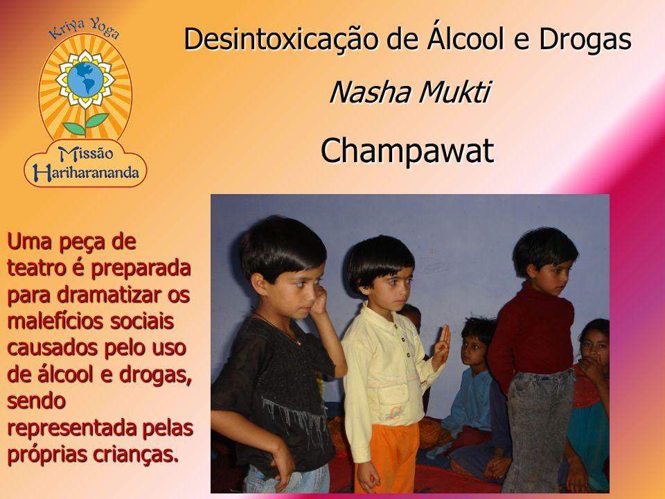 Uma peça de teatro é preparada para dramatizar os malefícios sociais causados pelo uso de álcool e drogas, sendo representada pelas próprias crianças.