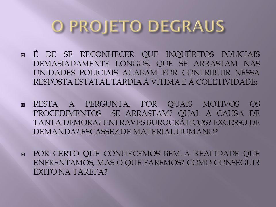 A IDÉIA DE UNIÃO DE ESFORÇOS PARA CONFERIR QUALIDADE ADMINISTRATIVA À CADA UNIDADE POLICIAL É 100% VIÁVEL E FACTÍVEL.