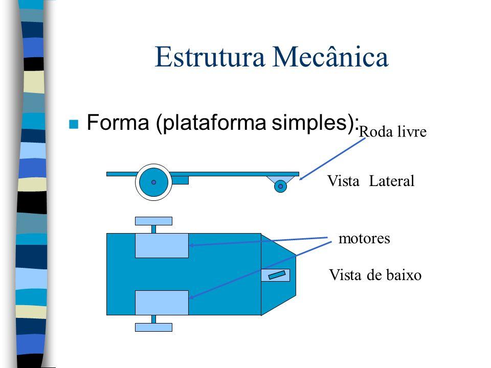 Servo Motores n Os servomotores são motores particularmente concebidos para o modelismo.