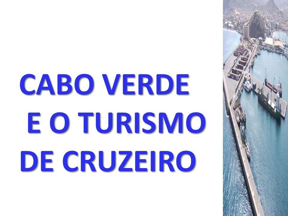 CABO VERDE E O TURISMO DE CRUZEIRO E O TURISMO DE CRUZEIRO