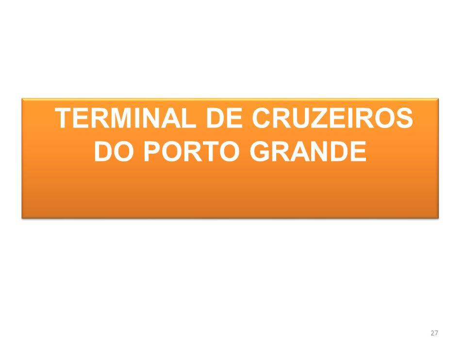 27 TERMINAL DE CRUZEIROS DO PORTO GRANDE