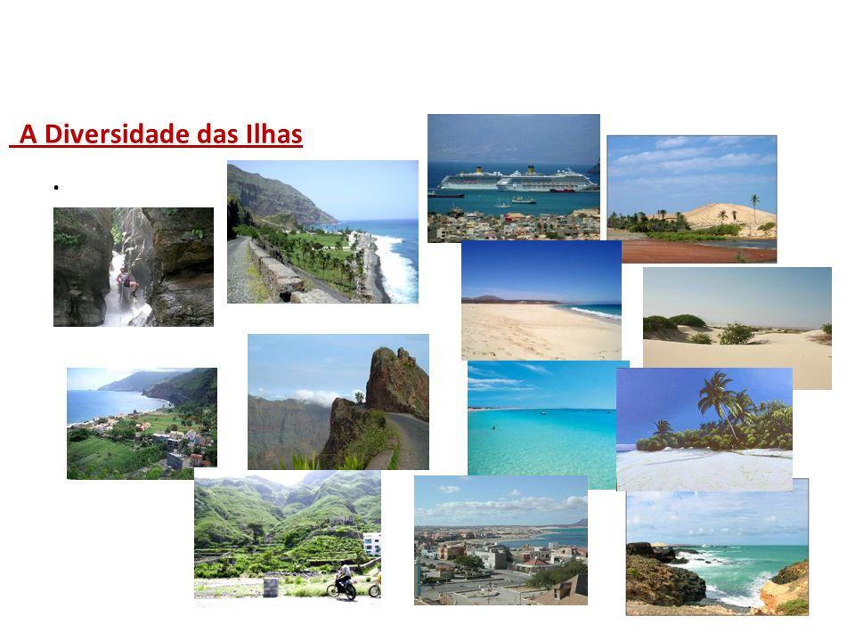 A Diversidade das Ilhas.