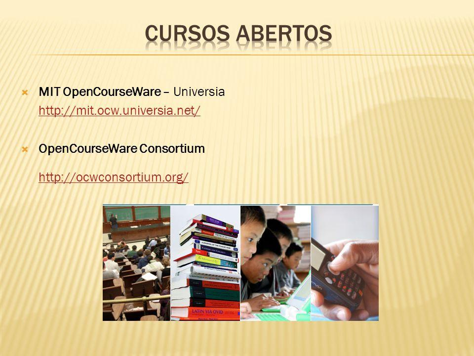 MIT OpenCourseWare – Universia http://mit.ocw.universia.net/ OpenCourseWare Consortium http://ocwconsortium.org/