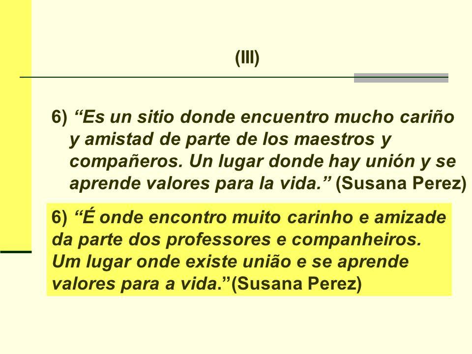 Lo que dice Susana Perez está en el punto de los Logros, en el texto de sistematización, pero creo que debe merecer una reflexión más honda sobre el aporte metodológico que FyA tiene a dar para la educación...