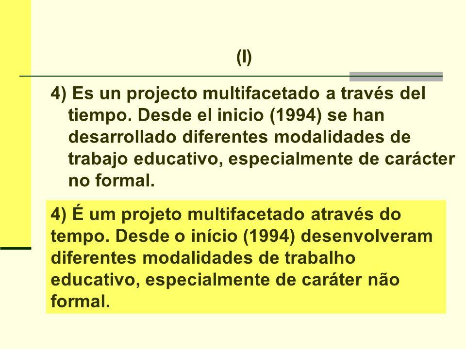 5) El texto de sistematización sobre el CET es bastante completo y rico en detalles.