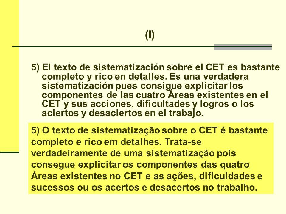 (II) Realces temáticos claves presentes en el Programa.