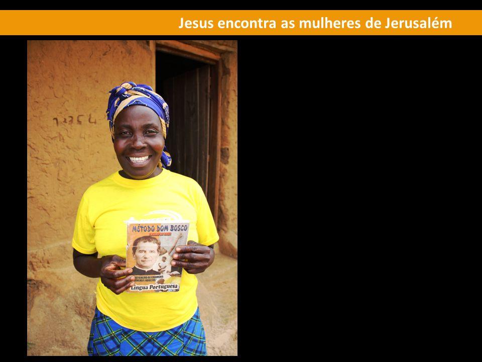 Jesus encontra as mulheres de Jerusalém