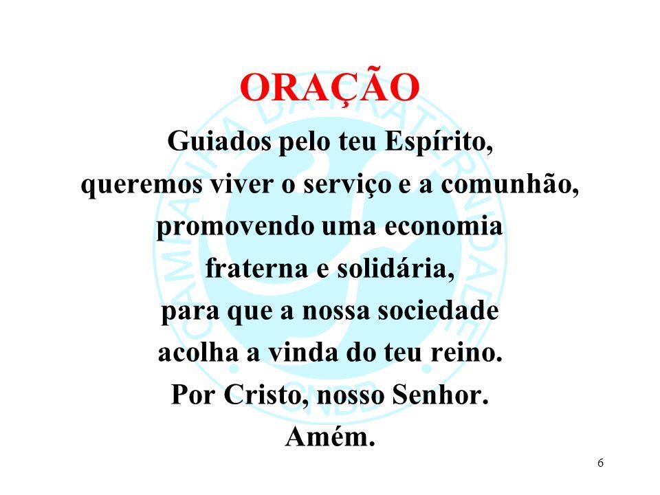TERCEIRA PARTE JULGAR Vocês não podem servir a Deus e ao Dinheiro (Mt 6, 24) 47