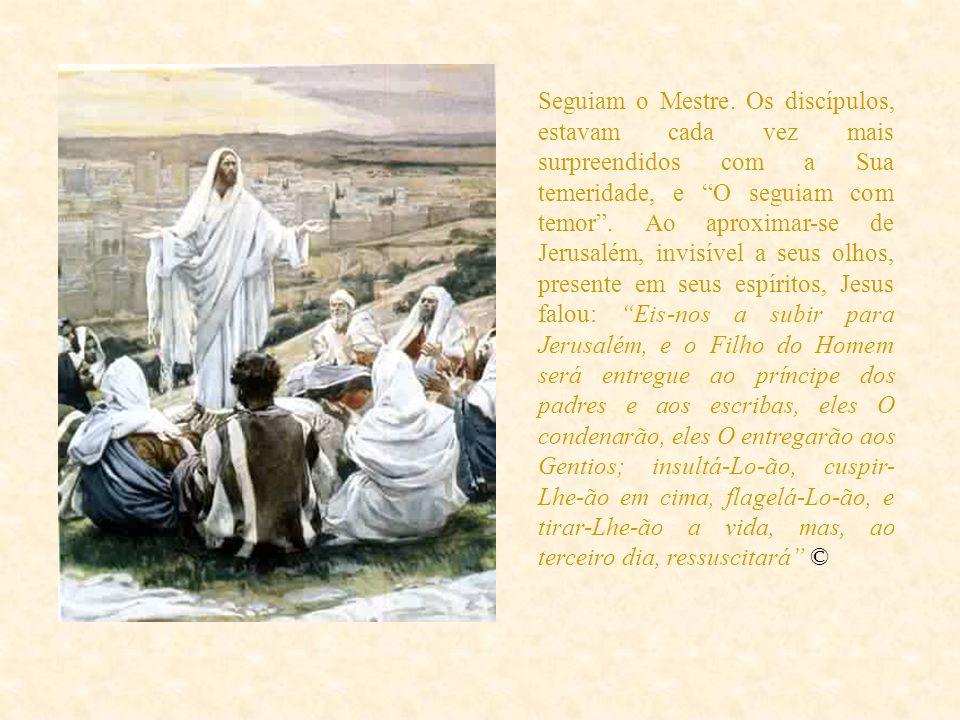 Retornando um pouco no tempo, por ocasião do derradeiro milagre de Jesus, após a breve passagem por Betânia, deixando Marta, Maria e o ressuscitado Lá