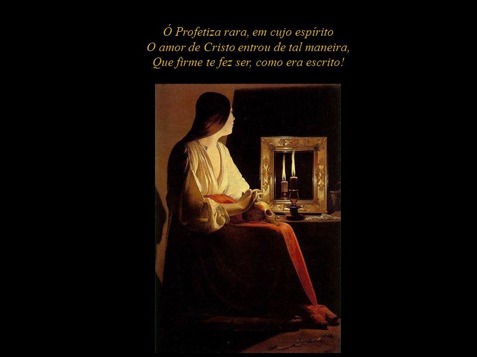 Ó engano do humano entendimento! Toda a casa santa obra mal julgou, Só o Cristo a defendeu, só a louvou Por Exéquias do Seu enterramento.