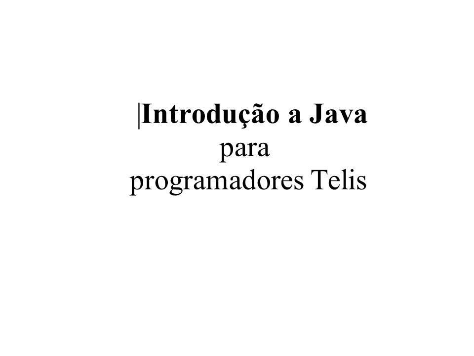  Introdução a Java para programadores Telis