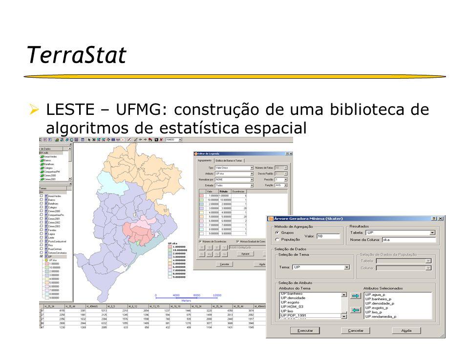 aRT ESTE – UFPR: Integração entre o R e TerraLib