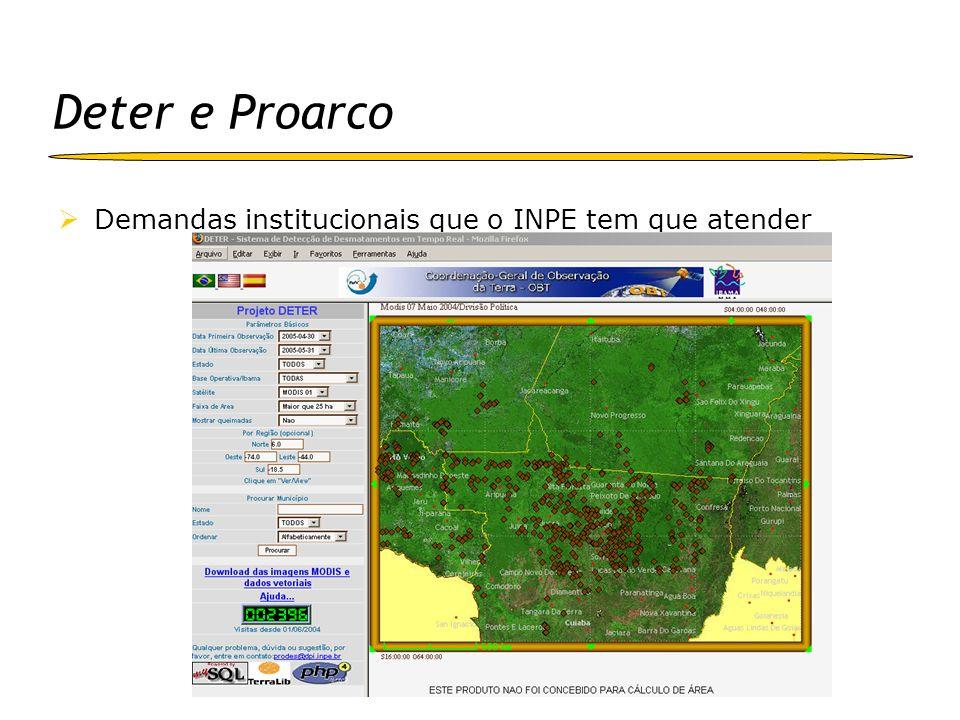 TerraView (www.dpi.inpe.br/terraview) É um aplicativo construído sobre a biblioteca TerraLib: Visualizador de dados geográficos com recursos de consulta a análise destes dados Exemplifica a utilização da biblioteca TerraLib O TerraView manipula dados vetoriais (pontos, linhas e polígonos) e matriciais (grades e imagens) Armazenados em SGBD relacionais ou geo-relacionais como o ACCESS, PostgreSQL, MySQL e Oracle e OracleSpatial Versão 3.0.3