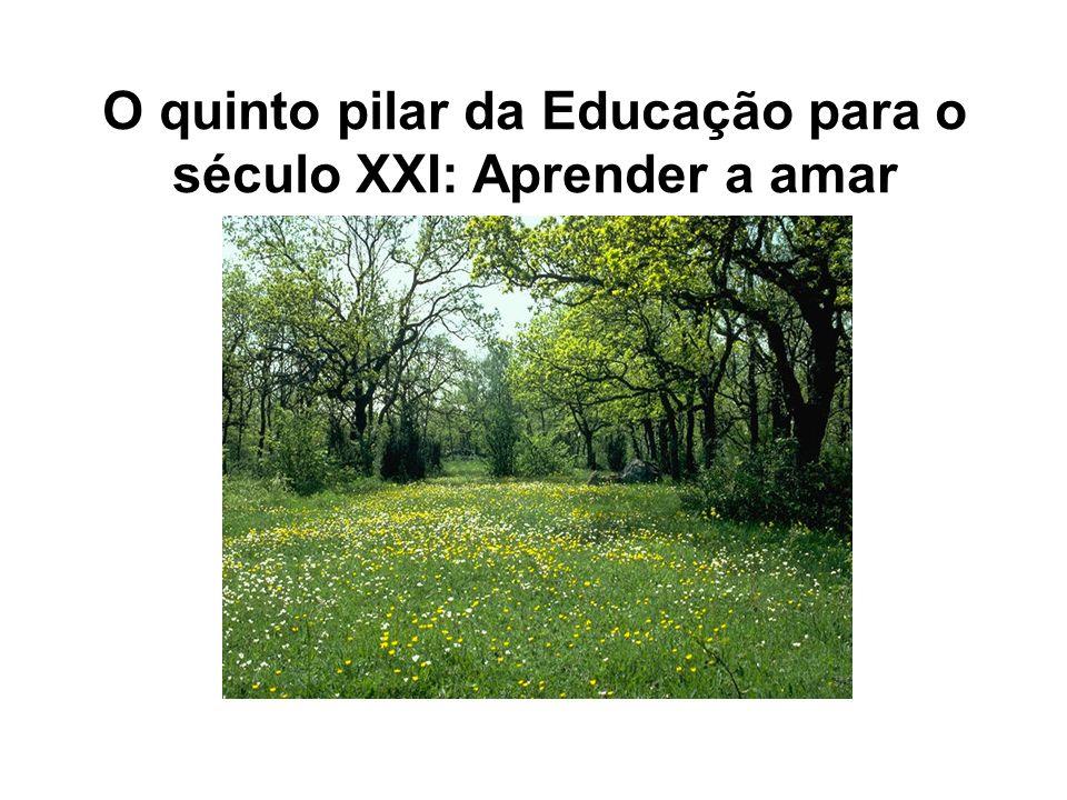 Pilares da UNESCO para a Educação no Século XXI. Aprendizagem ao longo da vida: Aprender a SER, Aprender a FAZER, Aprender a CONHECER, Aprender a CONV