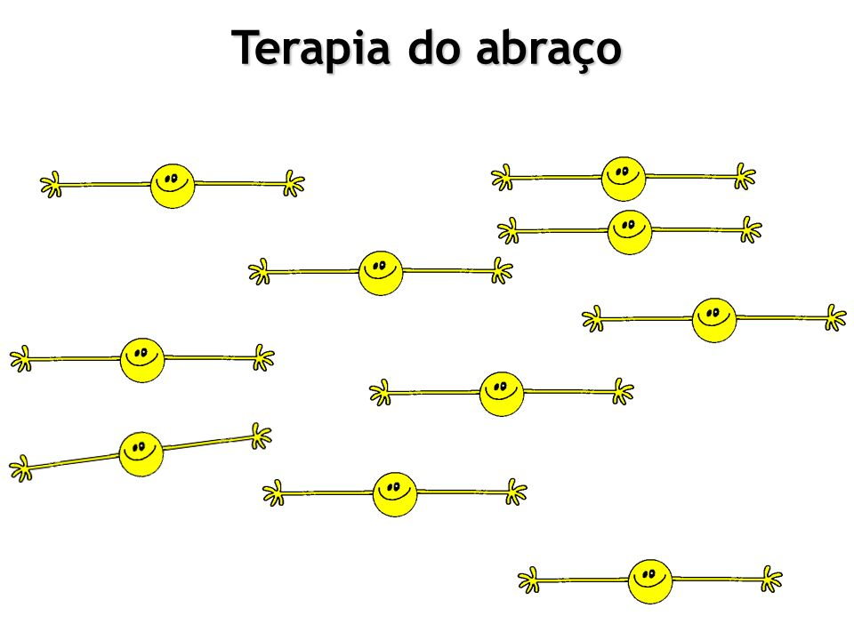 Terapia do abraço Terapia do abraço