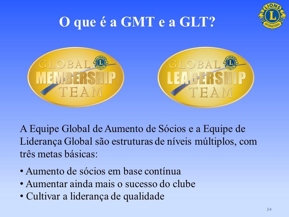 Equipe do Governador de Distrito, a GMT e a GLT 33 Esta seção explora o relacionamento com base em uma dinâmica de grupo entre a equipe do governador