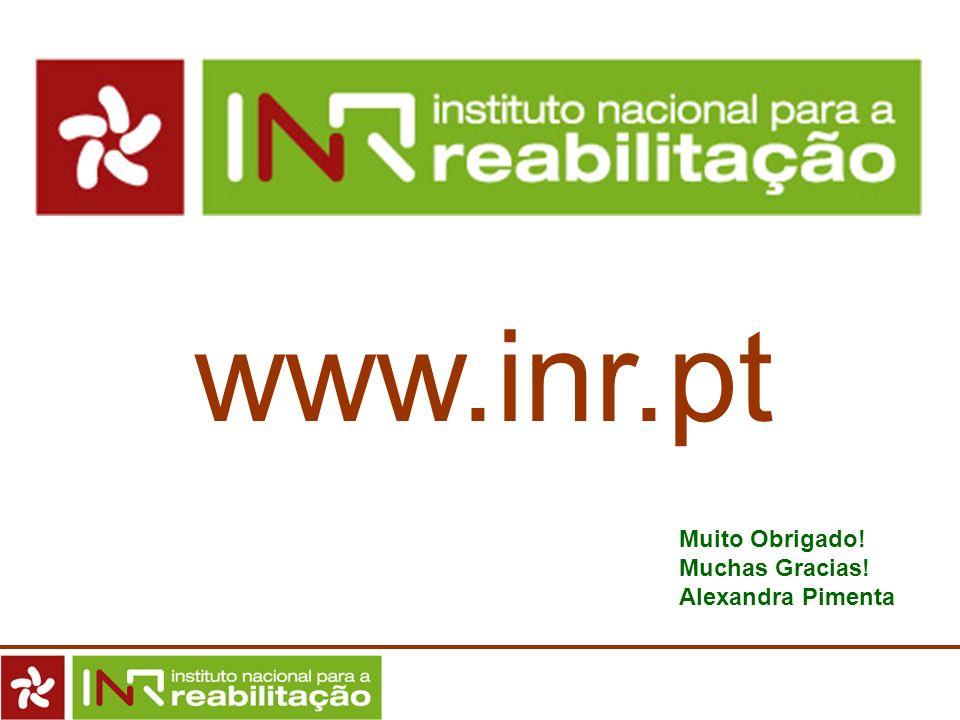 www.inr.pt Muito Obrigado! Muchas Gracias! Alexandra Pimenta