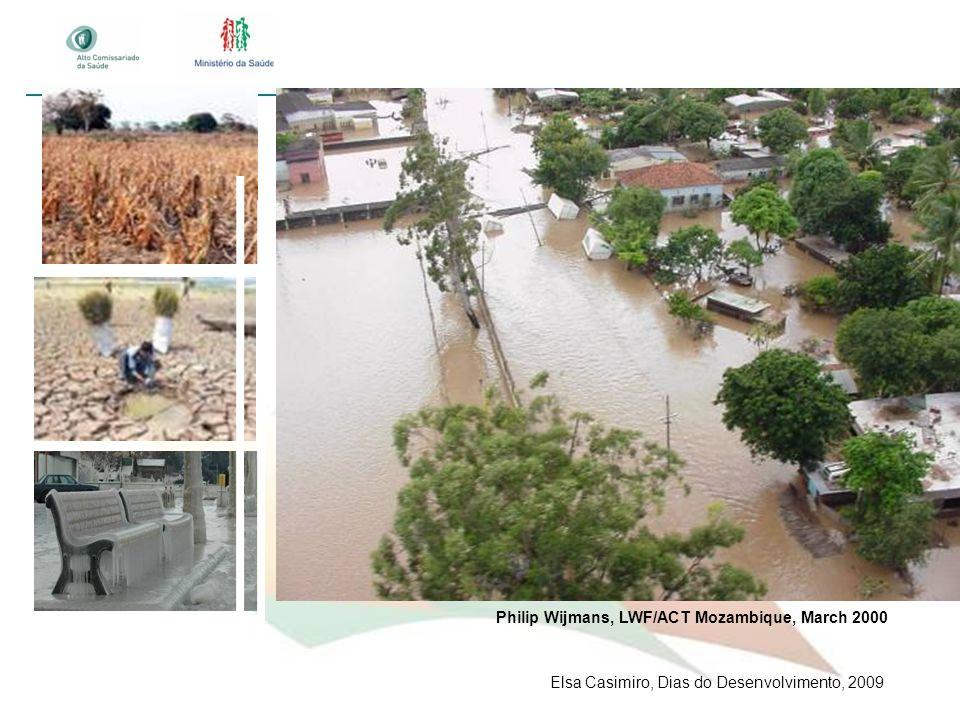 Philip Wijmans, LWF/ACT Mozambique, March 2000 Elsa Casimiro, Dias do Desenvolvimento, 2009