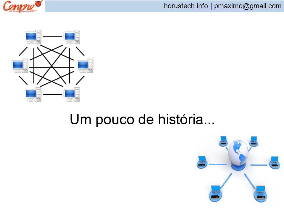 pmaximo@gmail.com horustech.info | pmaximo@gmail.com Um pouco de história...
