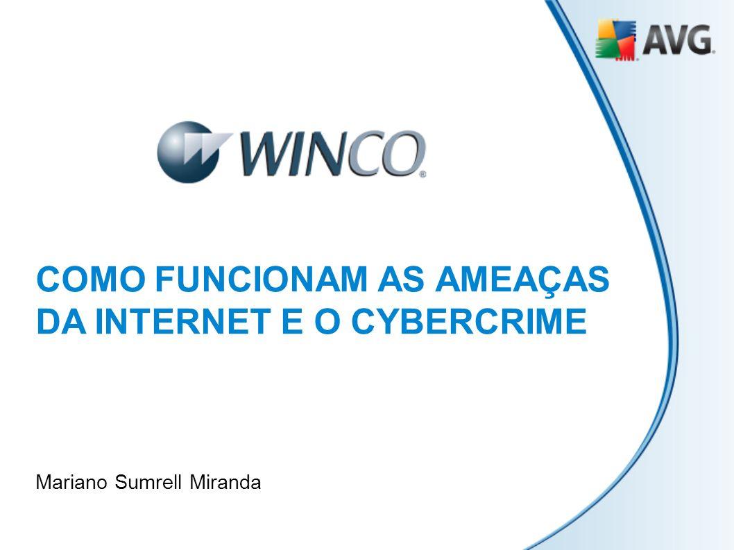COMO FUNCIONAM AS AMEAÇAS DA INTERNET E O CYBERCRIME Mariano Sumrell Miranda