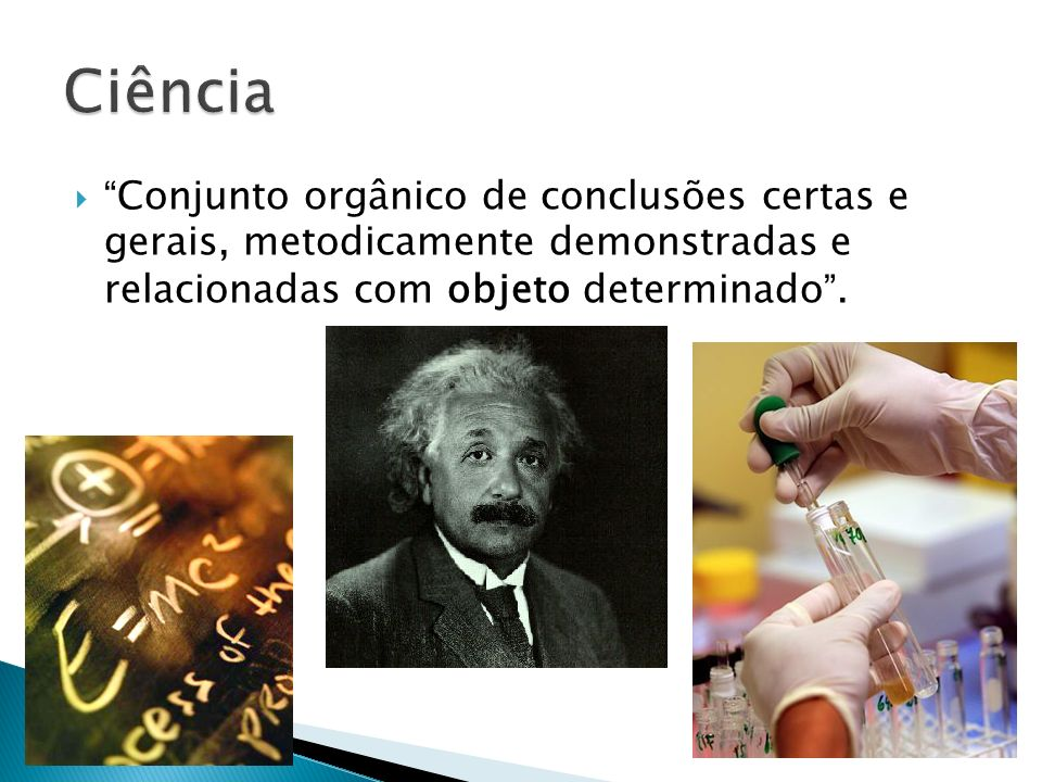 Conjunto orgânico de conclusões certas e gerais, metodicamente demonstradas e relacionadas com objeto determinado.