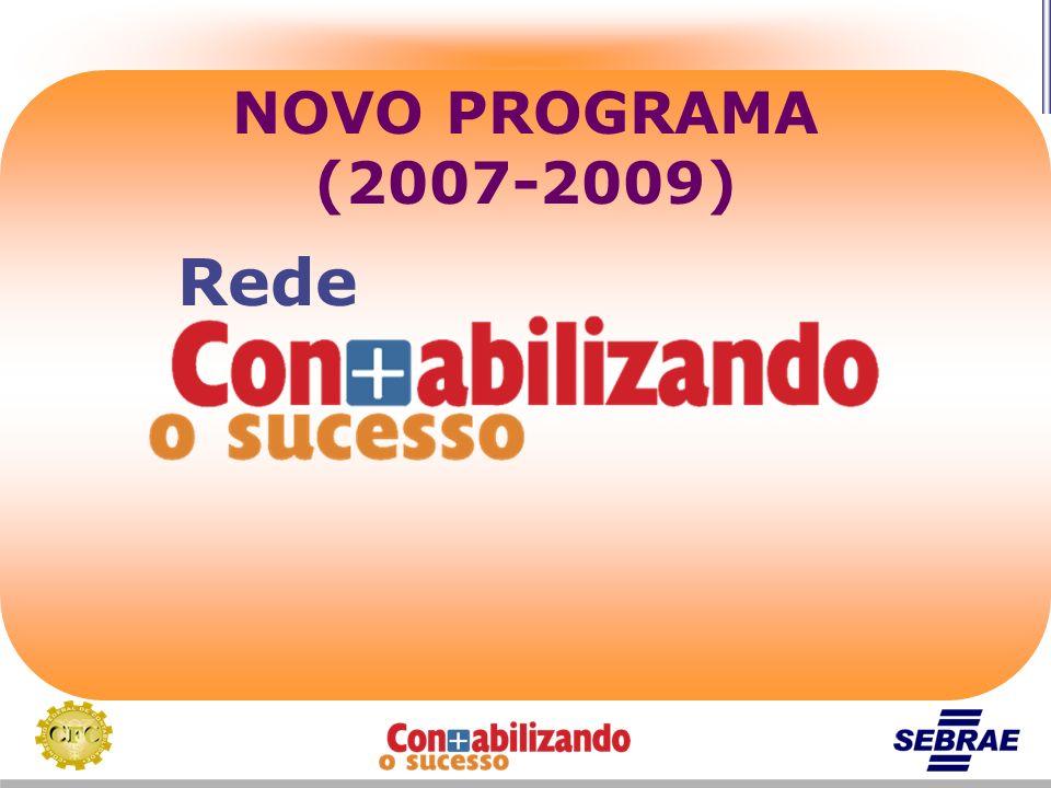 NOVO PROGRAMA (2007-2009) Rede