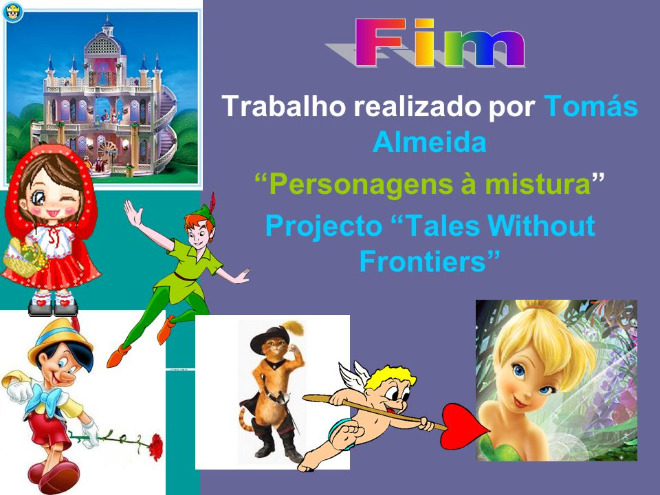 O baile Trabalho realizado por Tomás Almeida Personagens à mistura Projecto Tales Without Frontiers