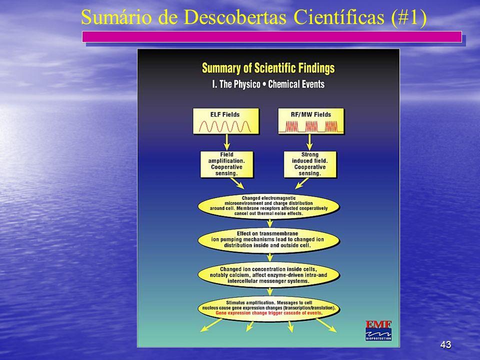 43 Sumário de Descobertas Científicas (#1)