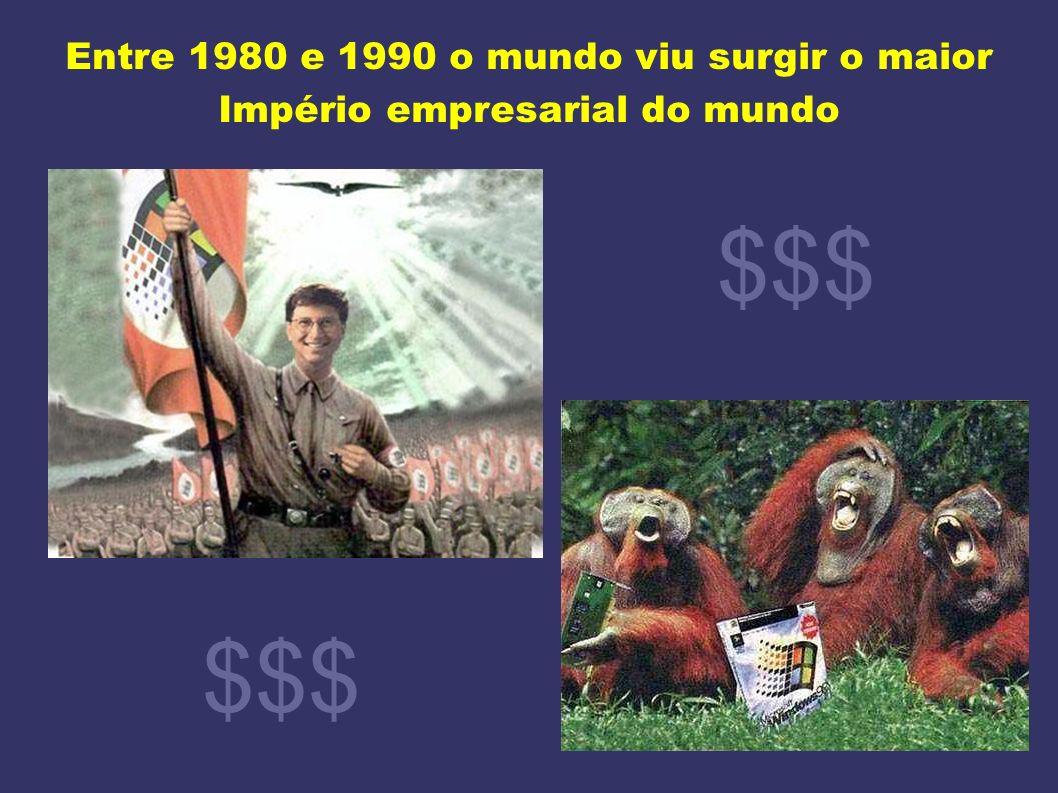 Entre 1980 e 1990 o mundo viu surgir o maior Império empresarial do mundo $$$