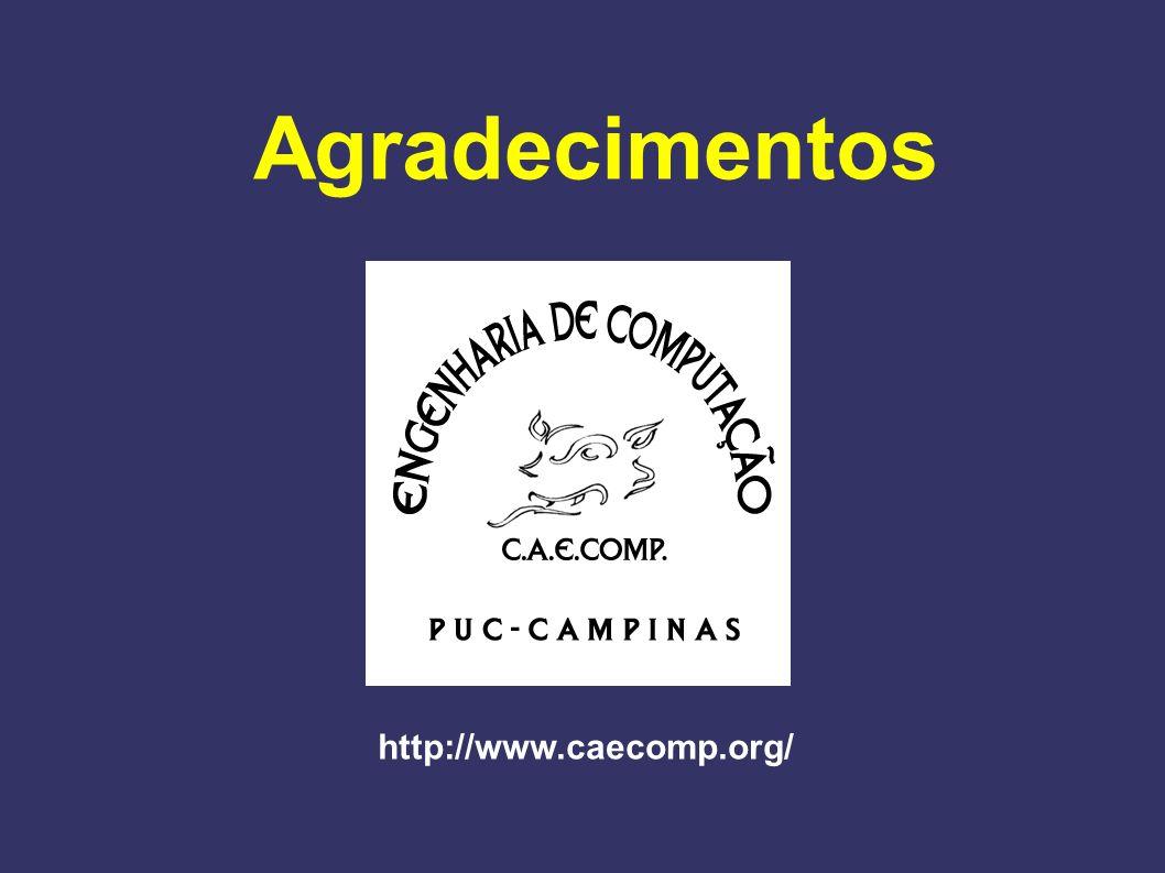 Agradecimentos http://www.caecomp.org/