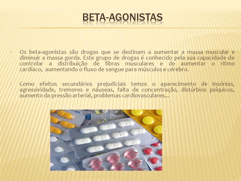 Os beta-agonistas são drogas que se destinam a aumentar a massa muscular e diminuir a massa gorda. Este grupo de drogas é conhecido pela sua capacidad