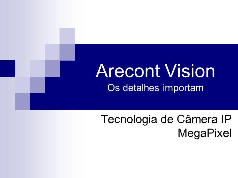Arecont Vision Os detalhes importam Tecnologia de Câmera IP MegaPixel