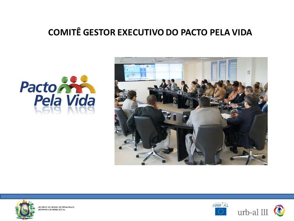 COMITÊ GESTOR EXECUTIVO DO PACTO PELA VIDA GOVERNO DO ESTADO DE PERNAMBUCO SECRETARIA DE DEFESA SOCIAL