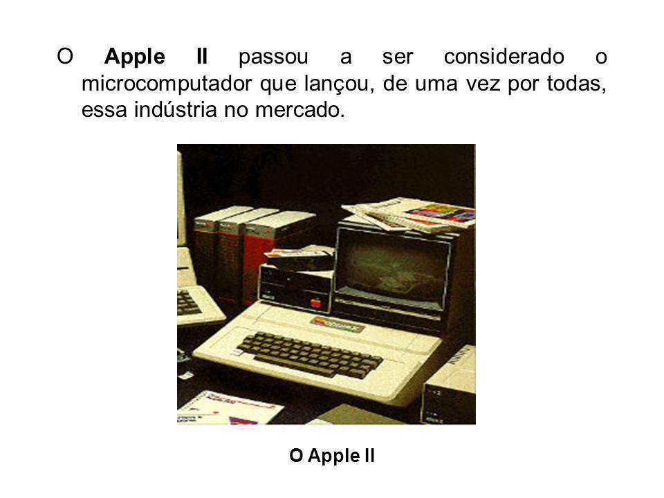 1975 Com a disseminação dos circuitos integrados, a tecnologia do computador sofreu uma verdadeira revolução. Graças ao chip de silício, o computador,