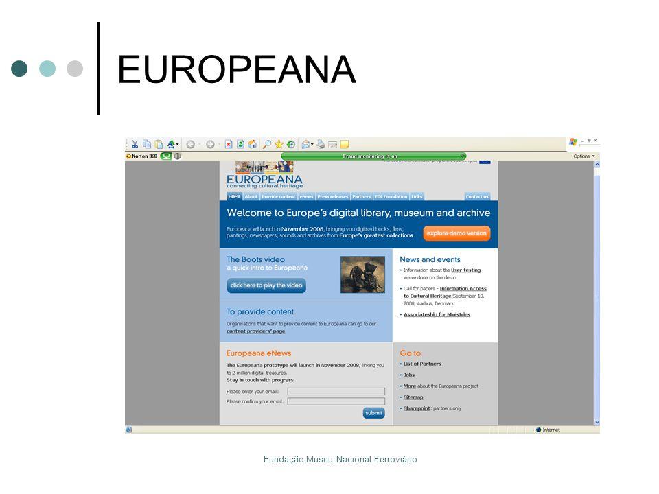 Fundação Museu Nacional Ferroviário EUROPEANA