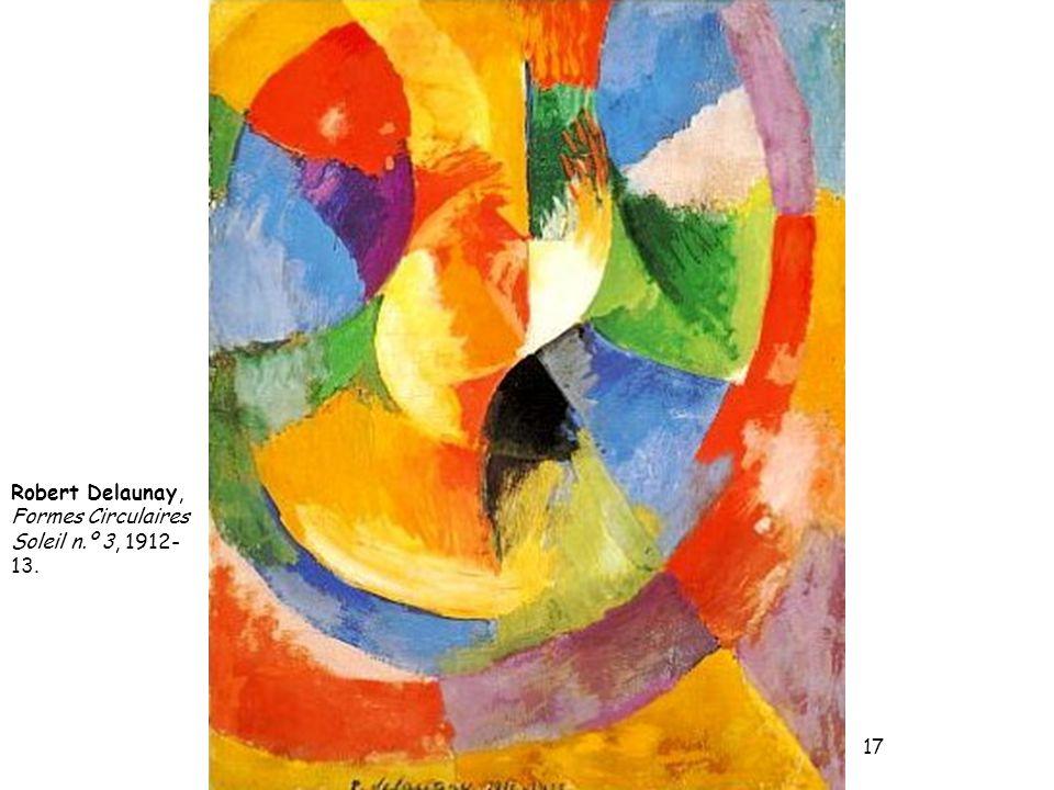 Robert Delaunay, Formes Circulaires Soleil n.º 3, 1912- 13. 17