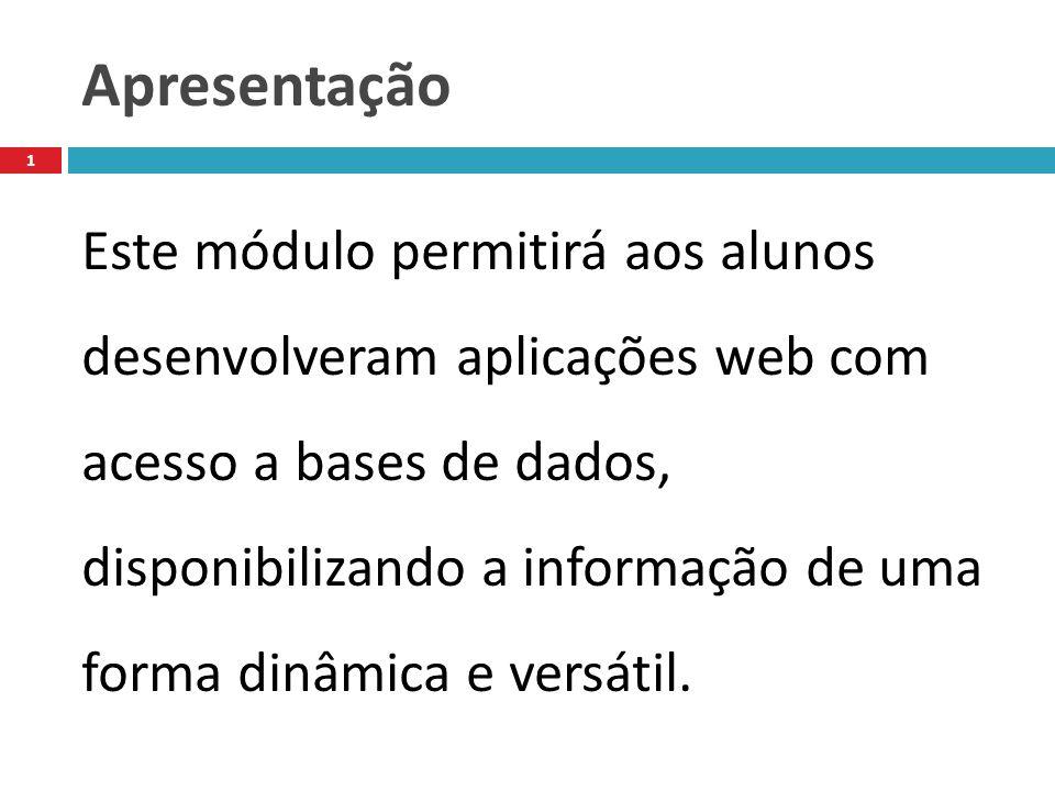 Preparar uma base de dados no MySQL para acesso com PHP 12 As figuras seguintes mostram as operações principais para criarmos uma base de dados chamada Pessoal com uma tabela chamada Contactos.