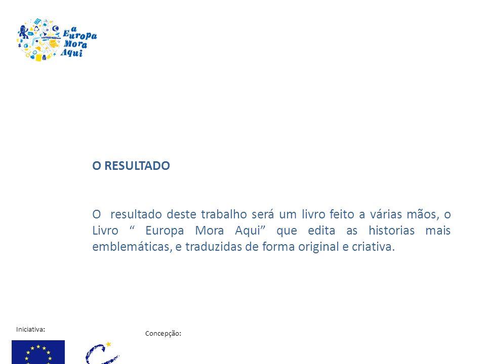 Iniciativa: Concepção: Projecto financiado pela comissão Europeia Primeiro os alunos vão aprender respondendo a um questionário que enquadra e transmite informação sobre a Estratégia de Lisboa para o crescimento e o Emprego, a Agenda social Europeia, a Justiça e os Assuntos Internos.