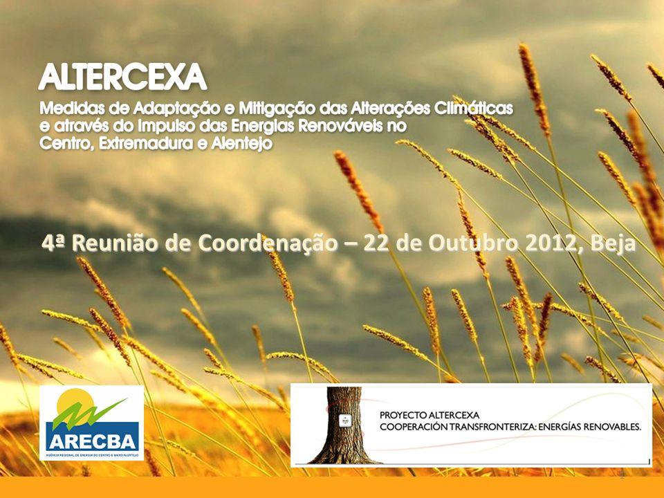 4ª Reunião de Coordenação – 22 de Outubro 2012, Beja 1