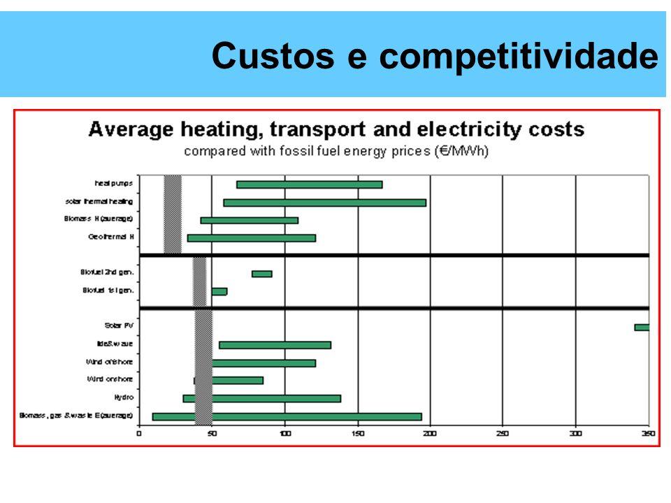 Custos e competitividade