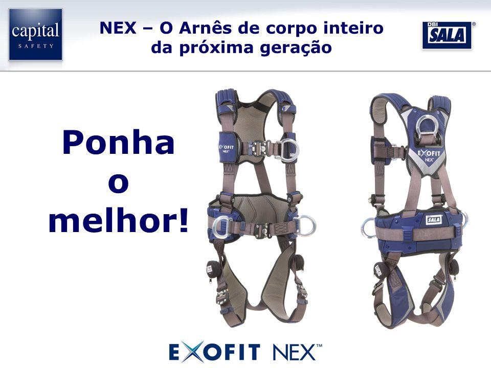 NEX – O Arnês de corpo inteiro da próxima geração Ponha o melhor!