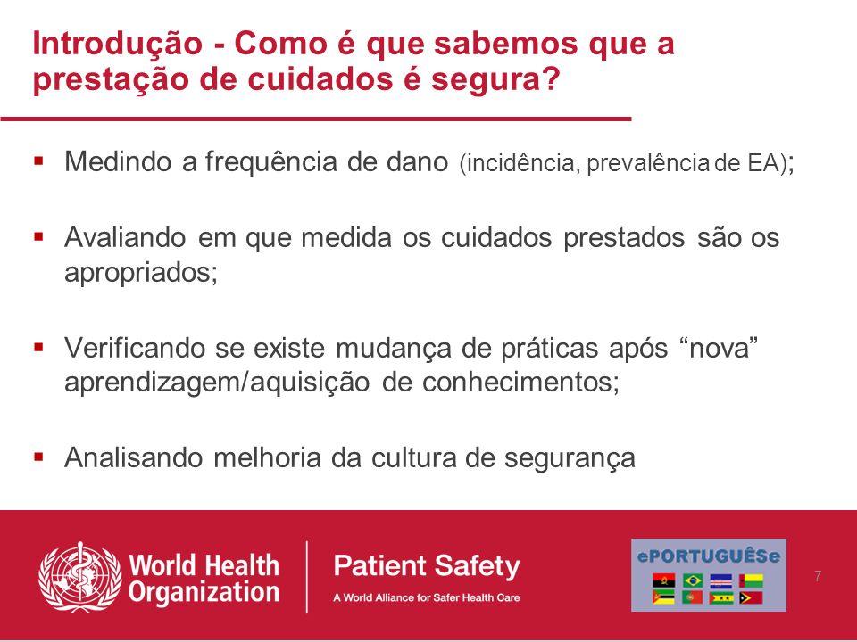 Avaliação da qualidade em saúde (Donabedian) Estrutura Processo Resultados 8