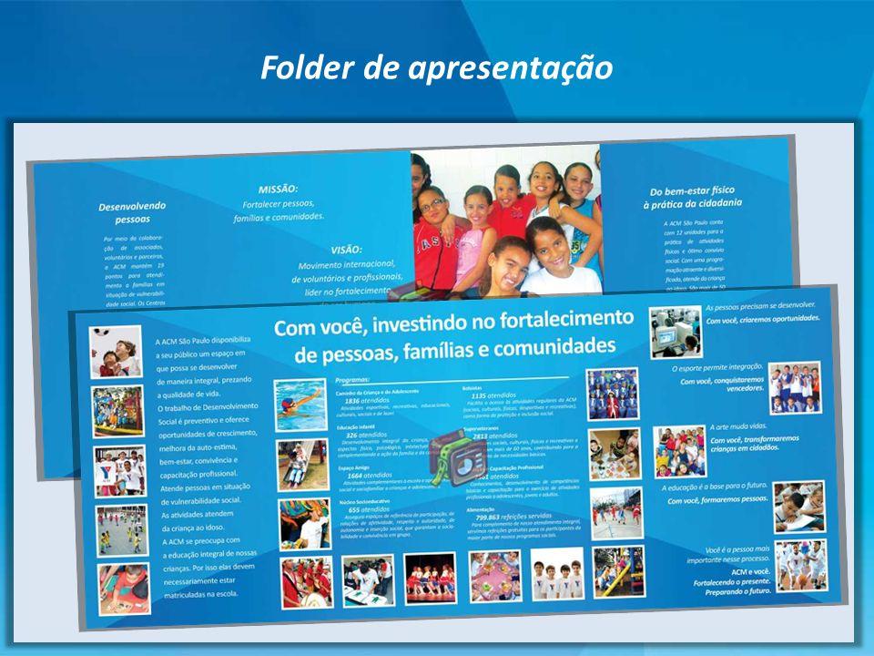 Folder de apresentação